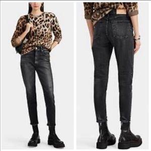 Moussy Vintage Velma Black Distressed Skinny Jeans